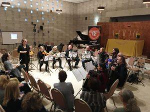 Tangoworkshop voor musici met Tango Por Dos
